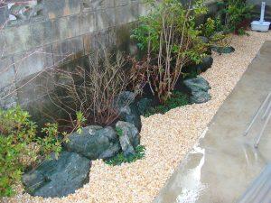 お庭の完成写真