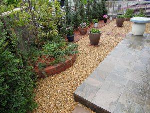 ガーデンデザイン工事