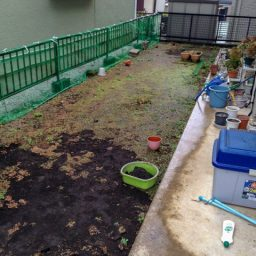 日照時間が少ないお庭