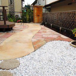 お庭のリフォーム外構工事
