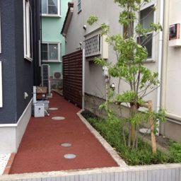雑草対策とお庭の工事