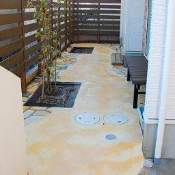 お庭の外構工事(エクステリアデザインの施工例)
