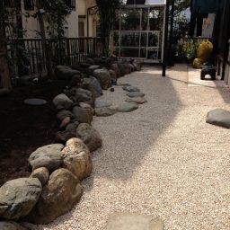 和風のお庭のリフォーム